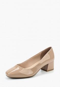 Туфли, Marks & Spencer, цвет: бежевый. Артикул: MA178AWAQYK2. Обувь / Туфли / Закрытые туфли