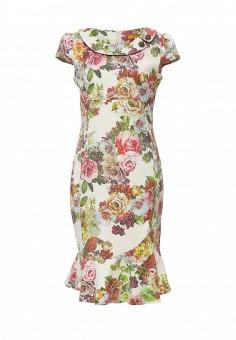 Платье, MadaM T, цвет: мультиколор. Артикул: MA422EWPZD92. Одежда / Платья и сарафаны