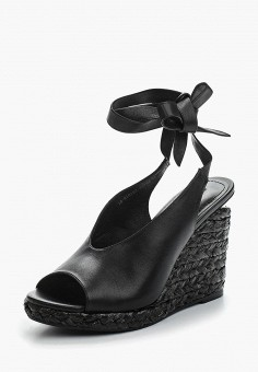 Босоножки, Mascotte, цвет: черный. Артикул: MA702AWZSV28. Обувь / Босоножки