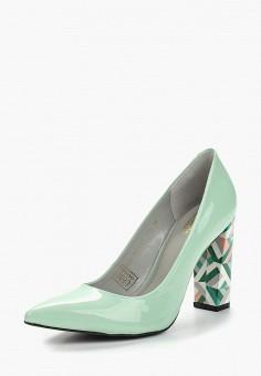 Туфли, Mascotte, цвет  бирюзовый. Артикул  MA702AWZSV56. Обувь   Туфли 1515e848fa8