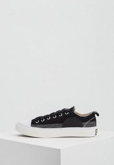 Кеды, McQ Alexander McQueen, цвет: черный. Артикул: MC010AMTDB25. Обувь / Кроссовки и кеды / Кеды