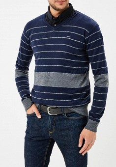 Пуловер, MeZaGuz, цвет: синий. Артикул: ME004EMAXJQ5. Одежда / Джемперы, свитеры и кардиганы
