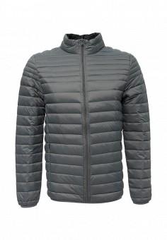 Пуховик, MeZaGuz, цвет: серый. Артикул: ME004EMUTT65. Мужская одежда / Верхняя одежда / Пуховики и зимние куртки
