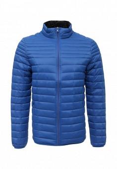 Пуховик, MeZaGuz, цвет: синий. Артикул: ME004EMUTT67. Мужская одежда / Верхняя одежда / Пуховики и зимние куртки