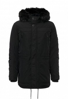 Куртка утепленная, MeZaGuz, цвет: черный. Артикул: ME004EMYVZ74. Мужская одежда / Верхняя одежда / Пуховики и зимние куртки