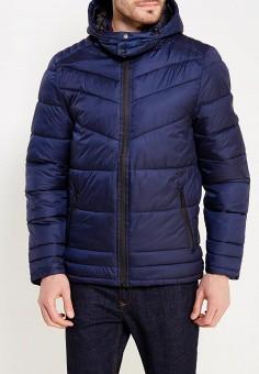 Куртка утепленная, MeZaGuz, цвет: синий. Артикул: ME004EMYVZ82. Одежда / Верхняя одежда / Пуховики и зимние куртки