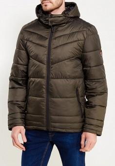 Куртка утепленная, MeZaGuz, цвет: хаки. Артикул: ME004EMYVZ84. Одежда / Верхняя одежда / Пуховики и зимние куртки