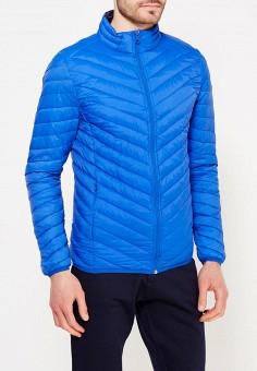 Пуховик, MeZaGuz, цвет: синий. Артикул: ME004EMYVZ87. Одежда / Верхняя одежда / Пуховики и зимние куртки