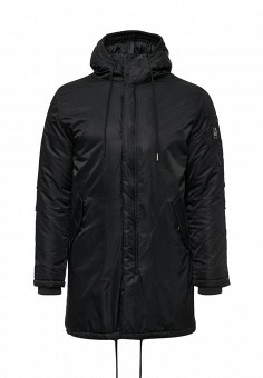 Куртка утепленная, MeZaGuz, цвет: черный. Артикул: ME004EMYVZ93. Мужская одежда / Верхняя одежда / Пуховики и зимние куртки