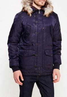 Куртка утепленная, MeZaGuz, цвет: синий. Артикул: ME004EMYVZ94. Одежда / Верхняя одежда / Парки