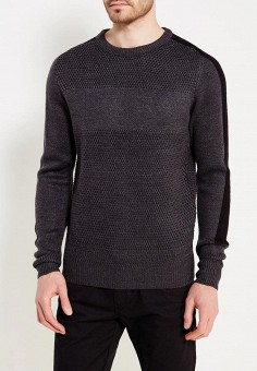 Джемпер, MeZaGuz, цвет: серый. Артикул: ME004EMYWA07. Одежда / Джемперы, свитеры и кардиганы