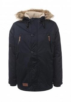 Куртка утепленная, Medicine, цвет: синий. Артикул: ME024EMWCT59. Мужская одежда / Верхняя одежда / Пуховики и зимние куртки