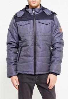 Куртка утепленная, Medicine, цвет: синий. Артикул: ME024EMWCT76. Одежда / Верхняя одежда / Пуховики и зимние куртки