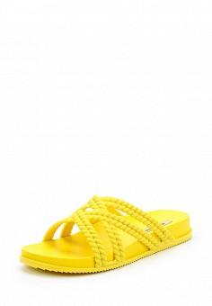Сланцы, Melissa, цвет: желтый. Артикул: ME485AWADZD9.