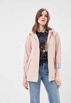 Куртка, Miss Selfridge, цвет: розовый. Артикул: MI035EWANDQ7. Одежда / Верхняя одежда / Легкие куртки и ветровки
