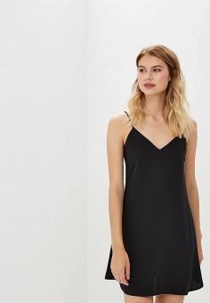 Платье, Miss Selfridge, цвет: черный. Артикул: MI035EWBVIN5. Одежда / Платья и сарафаны