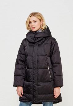 Куртка утепленная, Miss Selfridge, цвет: черный. Артикул: MI035EWZVG42. Одежда / Верхняя одежда / Зимние куртки
