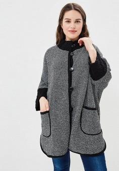 Пальто, Milana Style, цвет: черный. Артикул: MI038EWBFKE5. Одежда / Верхняя одежда / Пальто