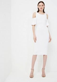 Платье, Michael Michael Kors, цвет: белый. Артикул: MI048EWAEBU8. Premium / Одежда / Платья и сарафаны
