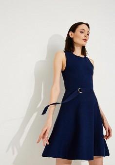 Платье, Michael Michael Kors, цвет: синий. Артикул: MI048EWAEBV1. Premium / Одежда / Платья и сарафаны