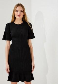 Платье, Michael Michael Kors, цвет: черный. Артикул: MI048EWAEBV6. Premium / Одежда / Платья и сарафаны