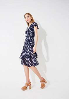 Платье, Michael Michael Kors, цвет: синий. Артикул: MI048EWAEBZ1. Premium / Одежда / Платья и сарафаны
