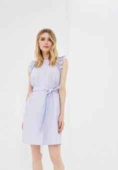 Платье, Michael Michael Kors, цвет: фиолетовый. Артикул: MI048EWAEBZ9. Premium / Одежда / Платья и сарафаны