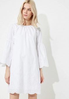 Платье, Michael Michael Kors, цвет: белый. Артикул: MI048EWAECA0. Premium / Одежда / Платья и сарафаны