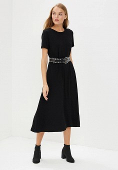 Платье, Michael Michael Kors, цвет: черный. Артикул: MI048EWBQLZ4. Одежда / Платья и сарафаны