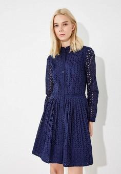 Платье, Michael Michael Kors, цвет: синий. Артикул: MI048EWBQMB3. Premium / Одежда / Платья и сарафаны