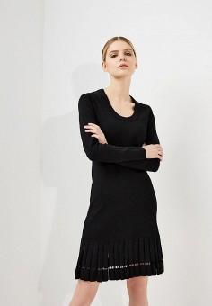Платье, Michael Michael Kors, цвет: черный. Артикул: MI048EWZLF37. Premium / Одежда / Платья и сарафаны