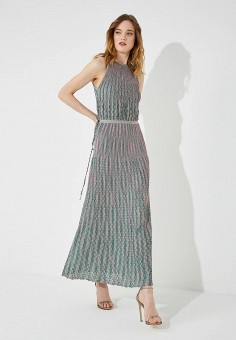 Платье, M Missoni, цвет: мультиколор. Артикул: MM151EWAARM5. M Missoni