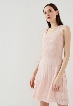 Платье, M Missoni, цвет: розовый. Артикул: MM151EWAARO4. Premium / Одежда / Платья и сарафаны