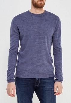 Джемпер, Modis, цвет: синий. Артикул: MO044EMALGR8. Одежда / Джемперы, свитеры и кардиганы