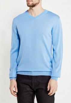 Пуловер, Modis, цвет: голубой. Артикул: MO044EMALGR9. Одежда / Джемперы, свитеры и кардиганы