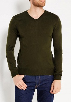Пуловер, Modis, цвет: зеленый. Артикул: MO044EMWRJ74. Одежда / Джемперы, свитеры и кардиганы
