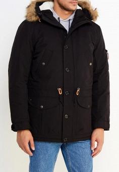 Парка, Modis, цвет: черный. Артикул: MO044EMWYW23. Одежда / Верхняя одежда / Пуховики и зимние куртки