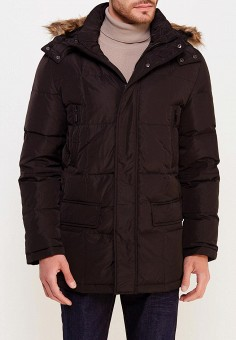 Пуховик, Modis, цвет: черный. Артикул: MO044EMWYW32. Одежда / Верхняя одежда / Пуховики и зимние куртки