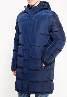 Куртка утепленная, Modis, цвет: синий. Артикул: MO044EMXWU16. Одежда / Верхняя одежда / Пуховики и зимние куртки