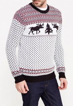 Джемпер, Modis, цвет: белый. Артикул: MO044EMYPL38. Одежда / Джемперы, свитеры и кардиганы