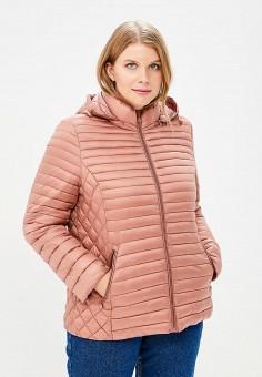 Куртка утепленная, Moki, цвет: розовый. Артикул: MO070EWCFWA0. Одежда