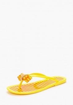 Сланцы, Mon Ami, цвет: желтый. Артикул: MO151AWBDWR1.