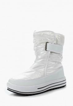 Дутики, Mon Ami, цвет: белый. Артикул: MO151AWWBH19. Обувь