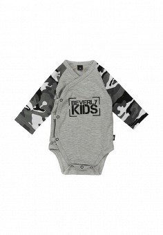 Боди, Beverly Kids, цвет: серый. Артикул: MP002XC004JC. Beverly Kids