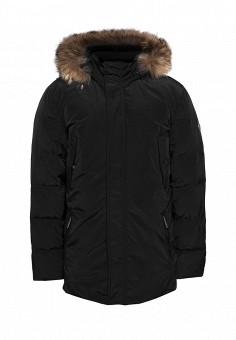 Пуховик, Finn Flare, цвет: черный. Артикул: MP002XM05S79. Одежда / Верхняя одежда / Пуховики и зимние куртки