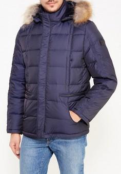 Пуховик, GT Gualtiero, цвет: синий. Артикул: MP002XM0LX4F. Одежда / Верхняя одежда / Пуховики и зимние куртки