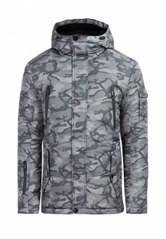 Куртка утепленная, Finn Flare, цвет: серый. Артикул: MP002XM0LZO2. Одежда / Верхняя одежда / Пуховики и зимние куртки