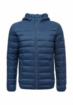 Пуховик, Colin's, цвет: синий. Артикул: MP002XM0W3WW. Одежда / Верхняя одежда / Пуховики и зимние куртки