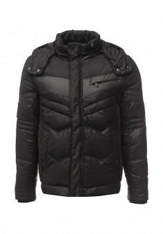 Пуховик, Colin's, цвет: черный. Артикул: MP002XM0W3X9. Одежда / Верхняя одежда / Пуховики и зимние куртки
