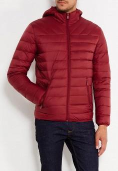 Пуховик, Colin's, цвет: бордовый. Артикул: MP002XM0W3XB. Одежда / Верхняя одежда / Пуховики и зимние куртки